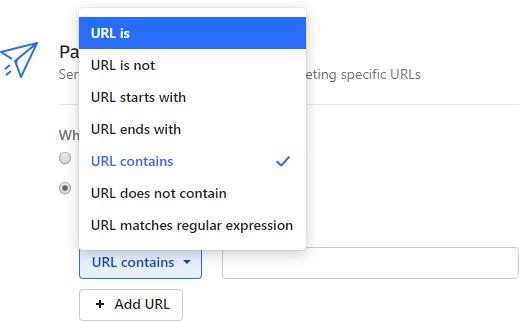 Narzędzie Intercom - adresy URL
